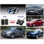 Carcasa Llave Cuchilla Para Alarma Hyundai De 3 Puntos