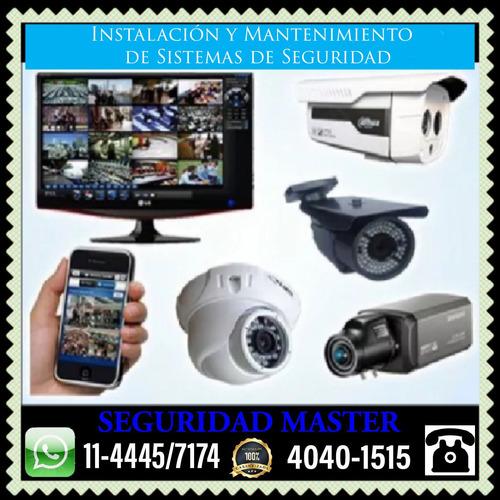 seguridad alarmas cámaras