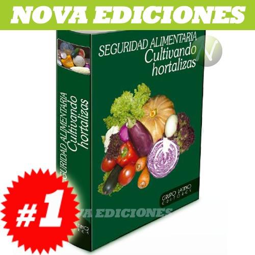 seguridad alimentaria, cultivando hortalizas 1 vol