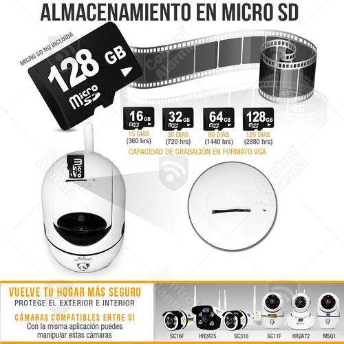 seguridad audio camara