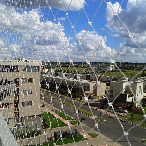 seguridad balcón con redes red balcon