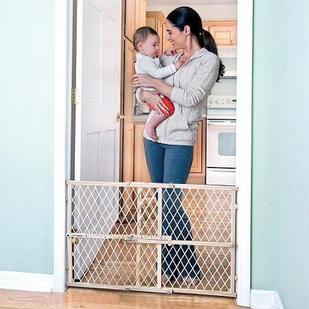 Reja de seguridad barandal puerta escalera para bebe evenflo en mercado libre - Seguro para puertas bebe ...
