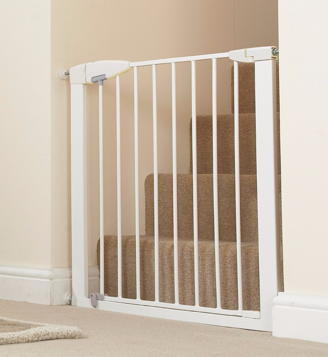 Puerta Reja Seguridad Bebe Munchkin Easy Close Metal