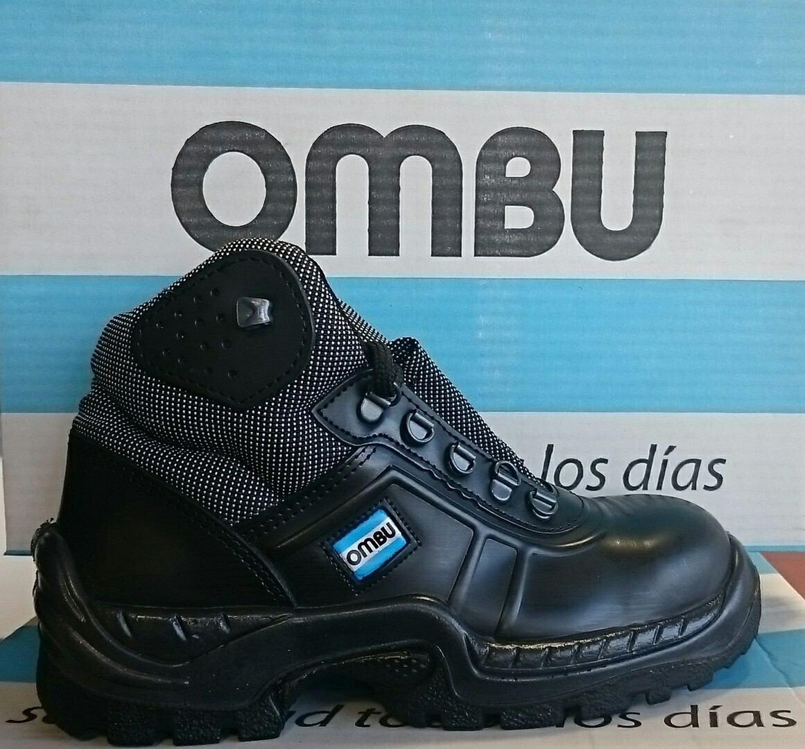 853ead4c Características. Marca Ombu; Modelo Ozono; Tipo de calzado de seguridad  Botín ...