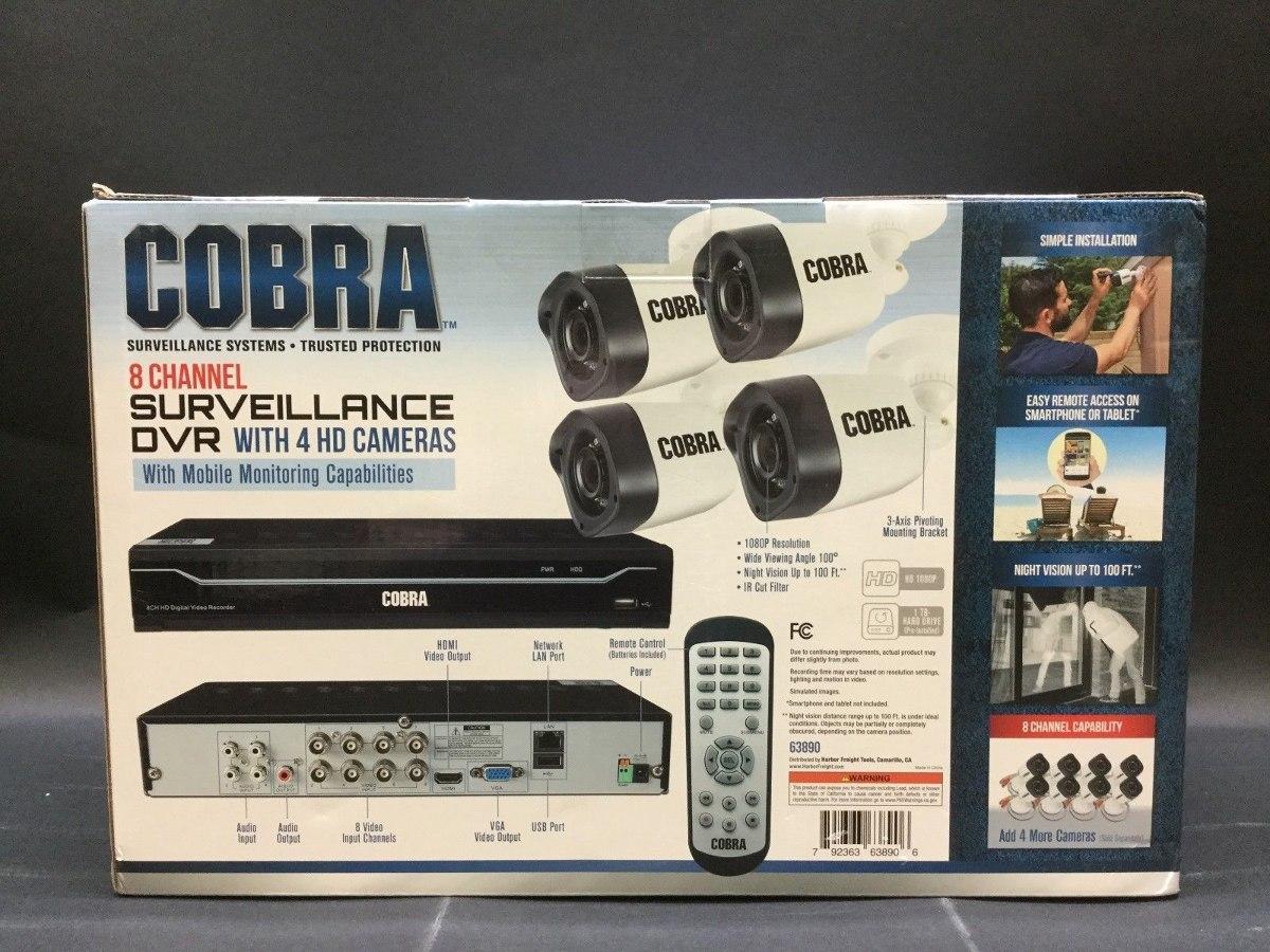 Cobra 63890 Setup