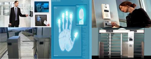 seguridad control acceso biometria  huella  magnetico