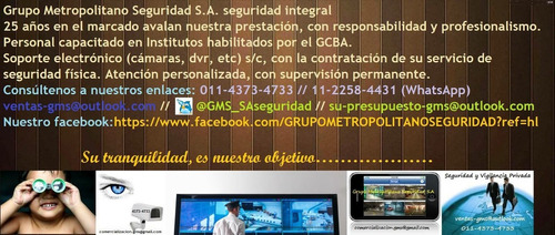 seguridad custodias vigilancia - seguridad por profesionales