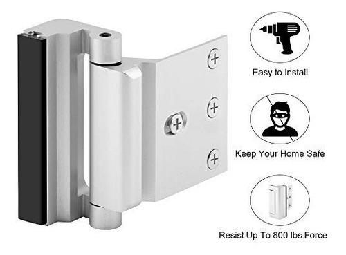 seguridad en el hogar cerradura de la puerta a prueba de los