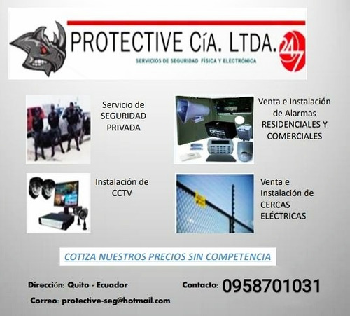seguridad física y electrónica