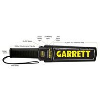 Detector De Metales Garrett Super Scanner Baston Tactico