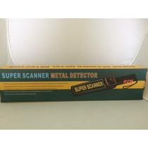 Detector De Metal Tipo Scanner