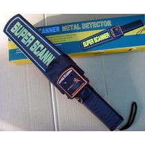 Detector De Metales Manual Con Forro Super Scanner