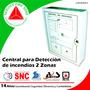 Central De Detección De Incendios De 2 Zonas