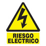 Señalización,seguridad Industrial: Riesgo Electrico