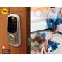 Cerradura Digital Para Puerta Chapa De Seguridad Alta Tecno