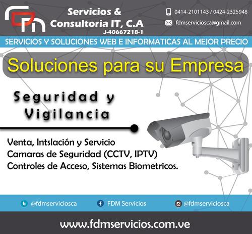 seguridad para empresas y negocios camaras cctv - iptv