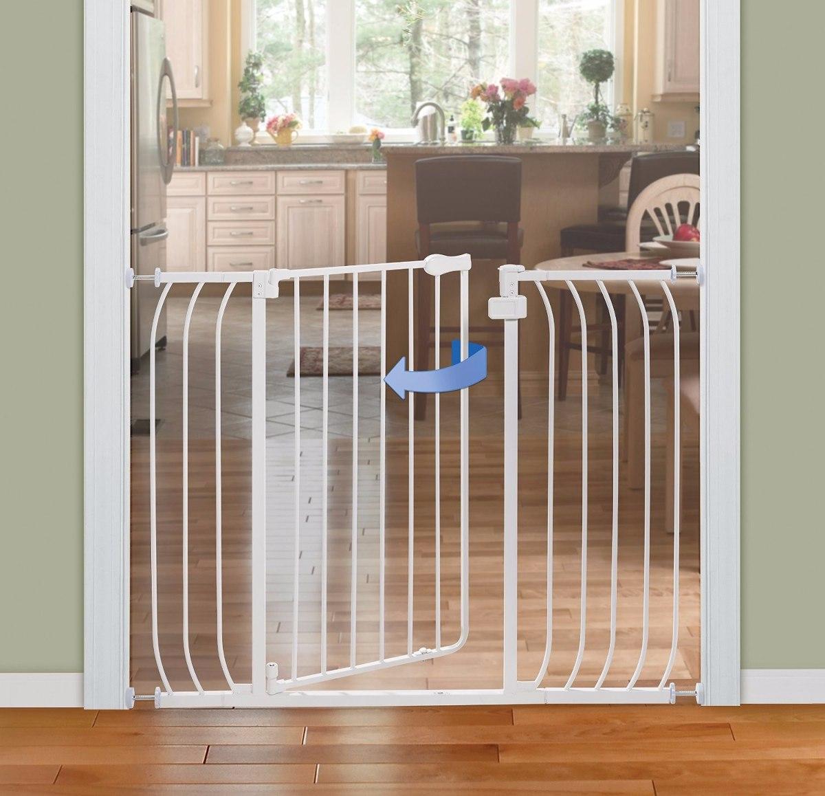 Reja de seguridad barandal puerta escalera para bebe k - Proteccion de escaleras para ninos ...