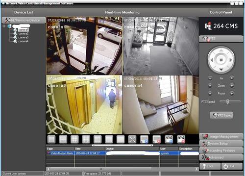 seguridad, servicio cámaras