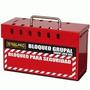 Caja De Bloqueo Grupal Steelpro