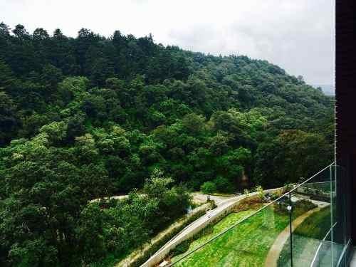 seguridad y lujo, bello depto nuevo de 234m2 en cumbres de santa fe cuajimalpa
