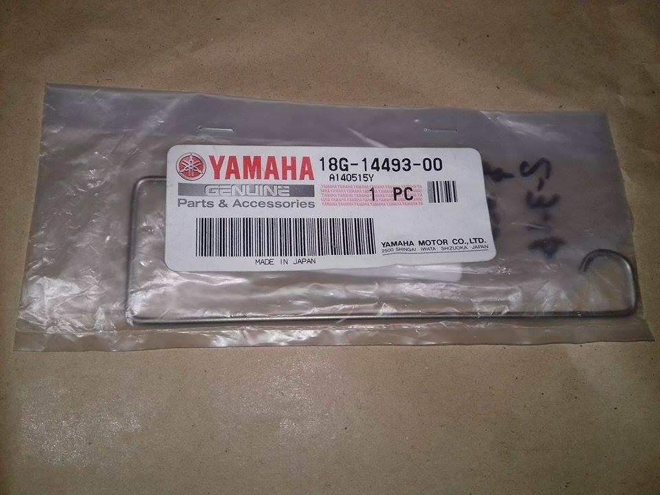 Seguro De Caja Filtrera De Dt125 Yamaha Orig Stinger Motos