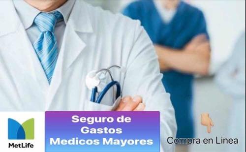 seguro gastos medicos mayores en línea