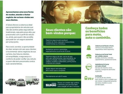 seguro moto carro caminhão - suhai