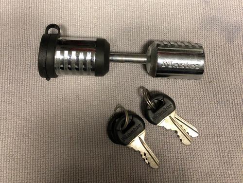 seguro para acoplador de trailer masterlock original calidad