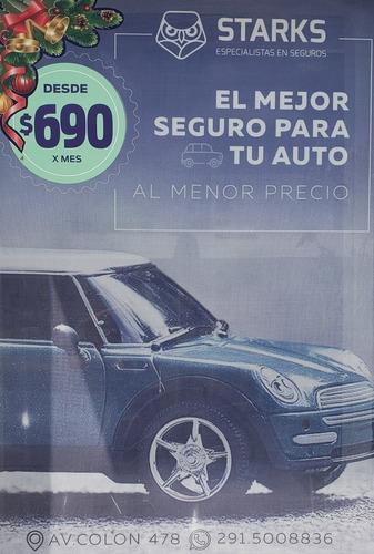 seguro para auto desde $690 × mes