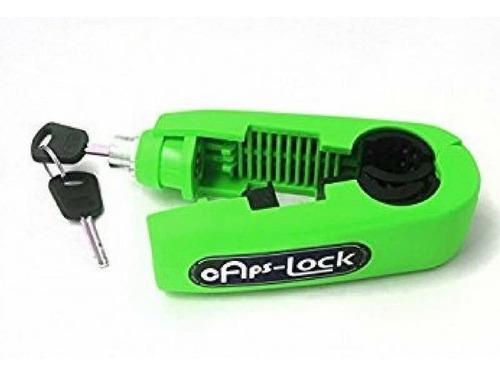 seguro para moto caps-lock