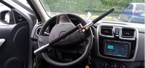 seguro para timón de carro, seguro bloqueador de timón.