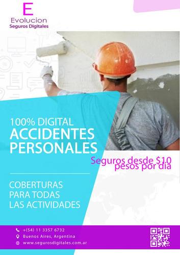 seguros de autos, casas, vida, art, accidentes personales