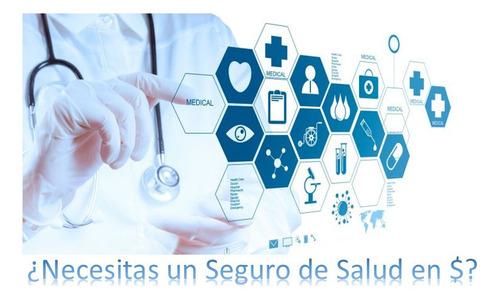 seguros de salud nacionales e internacionales.