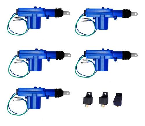 seguros eléctricos actuador relevador 4 puertas y cajuela