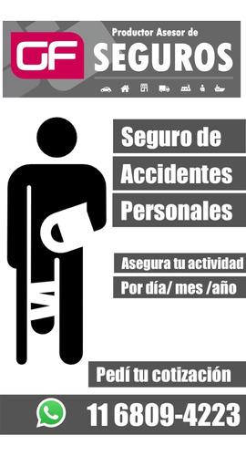 seguros generales auto,caución,accidentes personales,art,