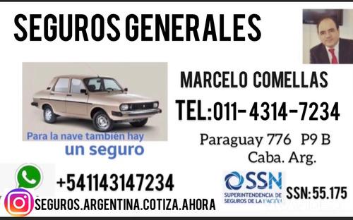 seguros para motos -autos - comercio- art  empresas y mas!