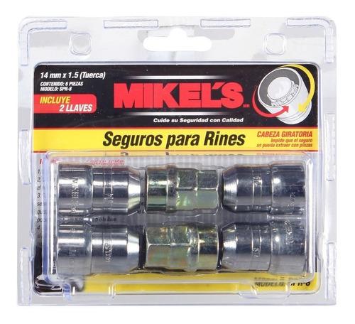 seguros para rines 12 mm x 1.5 tuerca mikels spr-2