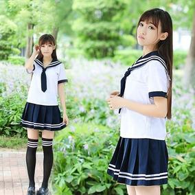 2edf57e5d5 Seifuku Uniforme Japones Cosplay Colegiala Disfraz