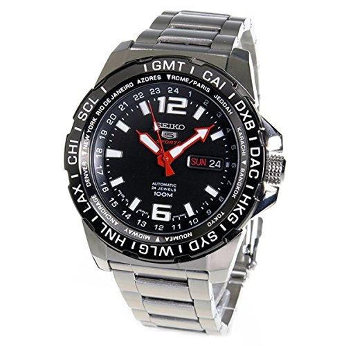 seiko 5 sports reloj automático para hombre srp685j1 made i