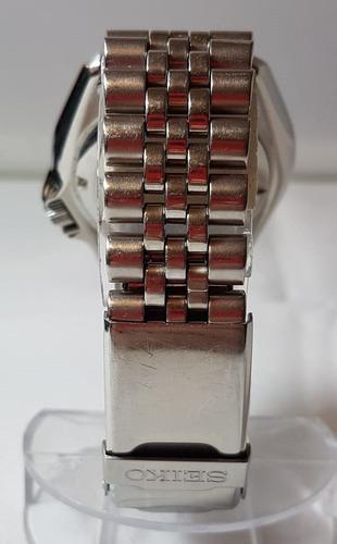 seiko automático scuba diver skx 200m pepsi pulseira jubileu