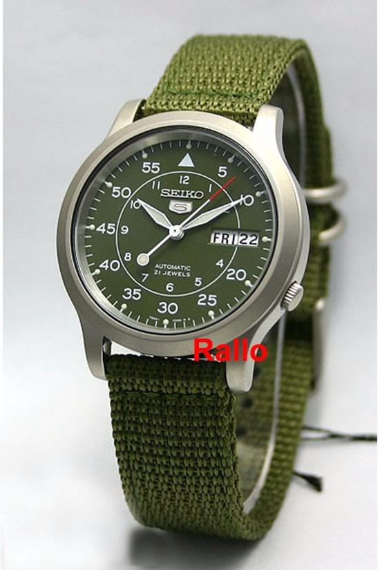 53230a25b65 Seiko Militar Automático Verde Snk805 Snk805k2 Menor Preço - R  579 ...