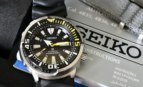 seiko tuna prospex diver automático srp639 srp639b1 200m