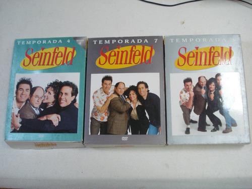 seinfeld - temporadas 4, 7 y 8 - 12 discos impecables