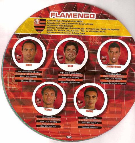 seis campeões do campeonato brasileiro 2008 ed abril- scaner