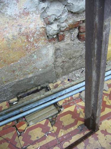 seis marcos de chapa para puertas