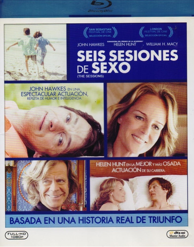 seis sesiones de sexo the sessions pelicula blu-ray
