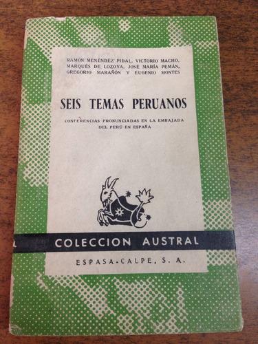 seis temas peruanos