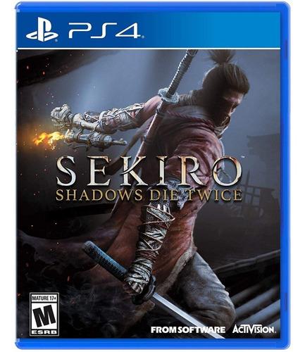 sekiro shadow die twice / juego físico / ps4