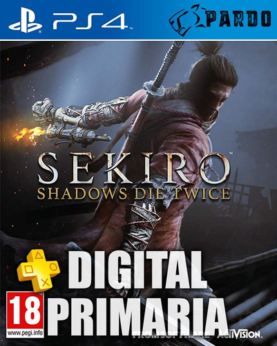 sekiro: shadows die twice + plus - ps4 digital - pardo