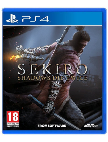 sekiro shadows die twice ps4. nuevo. fisico. sellado